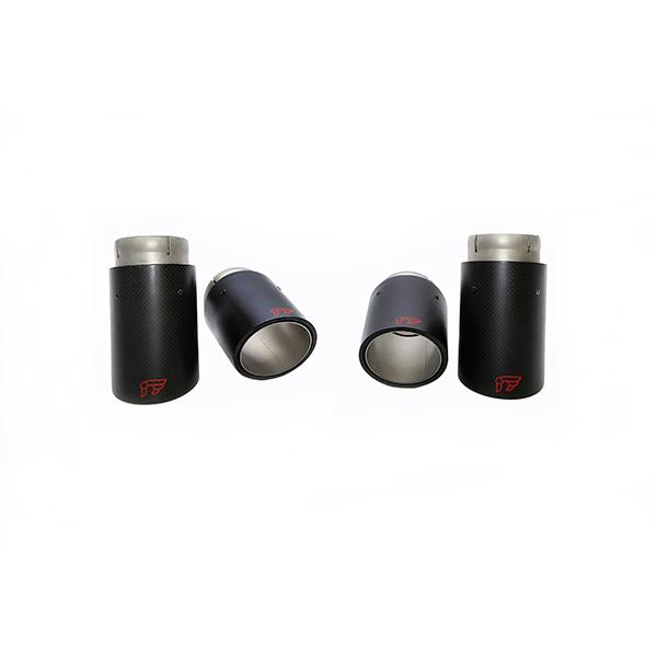 ipe porsche 958 cayenne turbo 4.8 насадки карбон