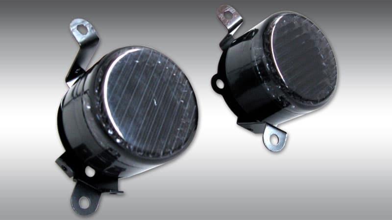 LED Foglights Black