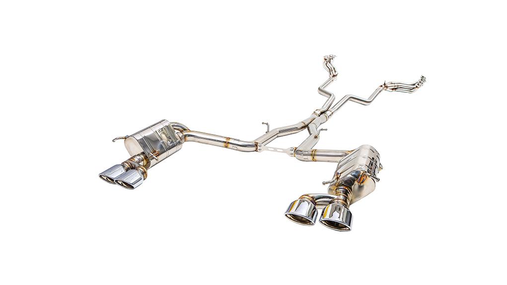 ipe mercedes-benz c63 amg выхлопная система с клапанами