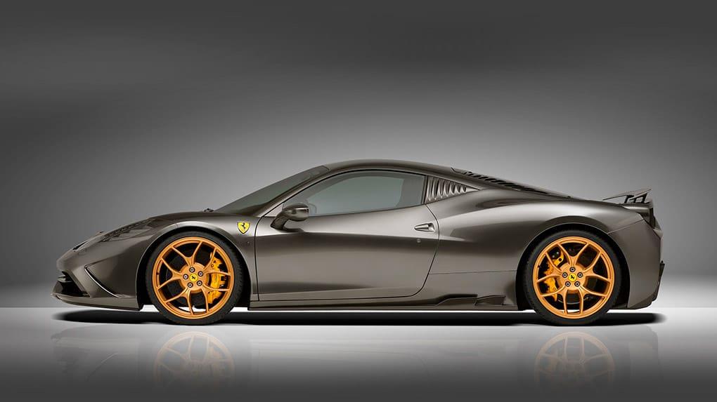 Novitec Ferrari 458 Speciale программа тюнинга