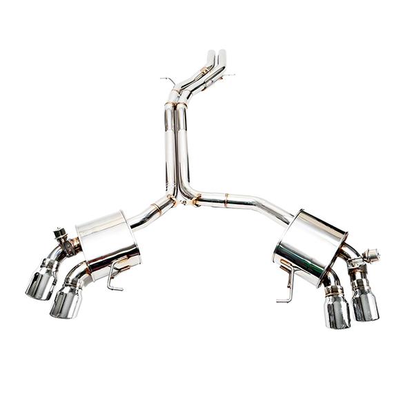 ipe porsche macan turbo выхлопная система с клапанами