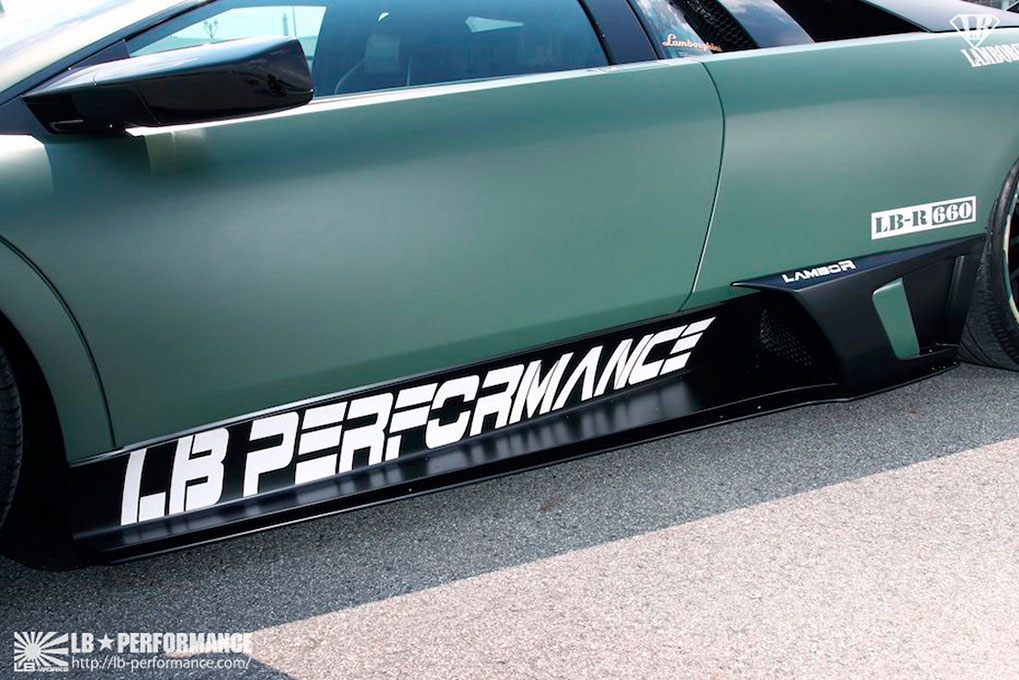 LB Performance Lamborghini LP640-4 Murcielago Body Kit