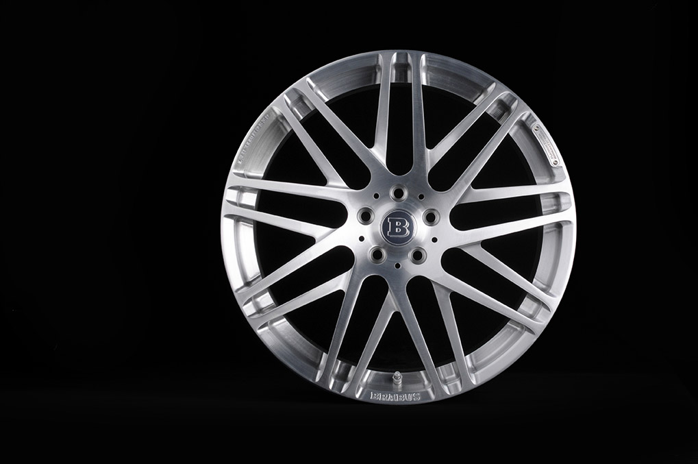 Brabus Mercedes-Benz S63 Coupe Monoblock-F-Platinum