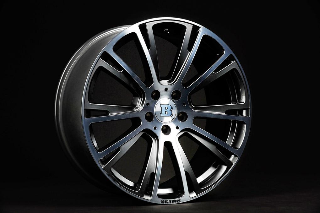 Brabus Mercedes-Benz S63 Coupe Monoblock-R-Titanium