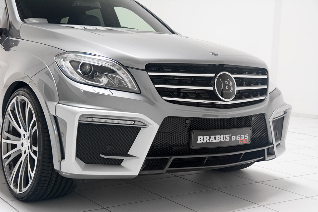 Brabus Widestar Mercedes-Benz ML63 B63S 700 Элементы переднего бампера
