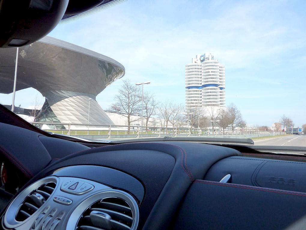 BMW Museum вид из SLR