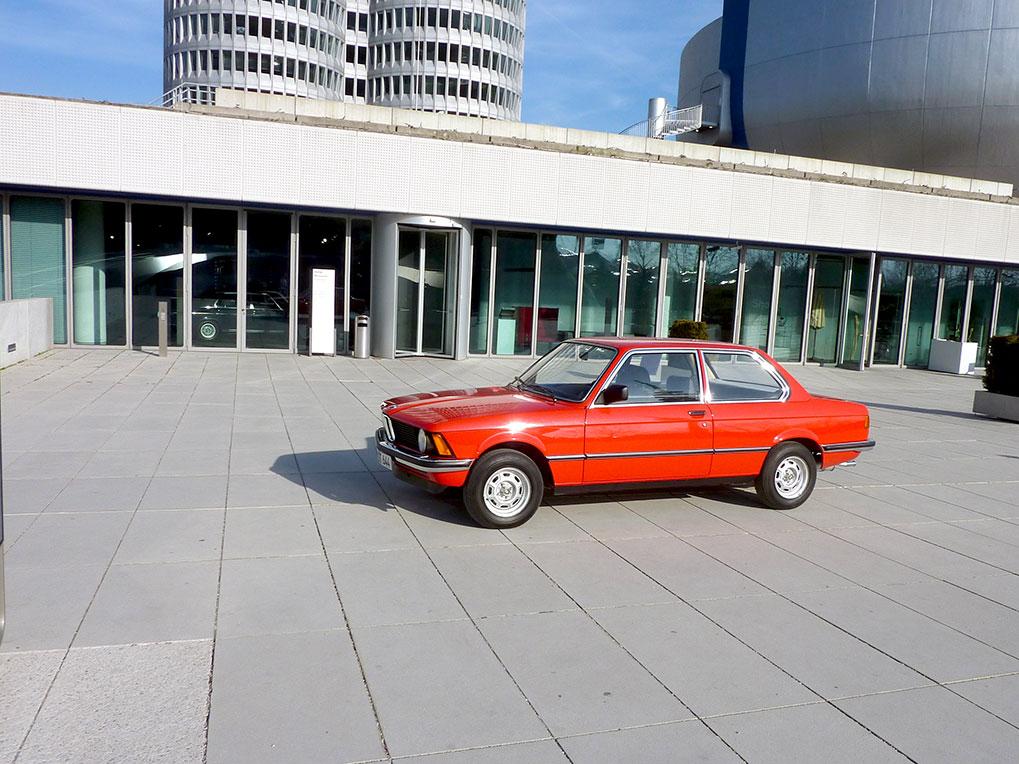 Museum BMW у входа