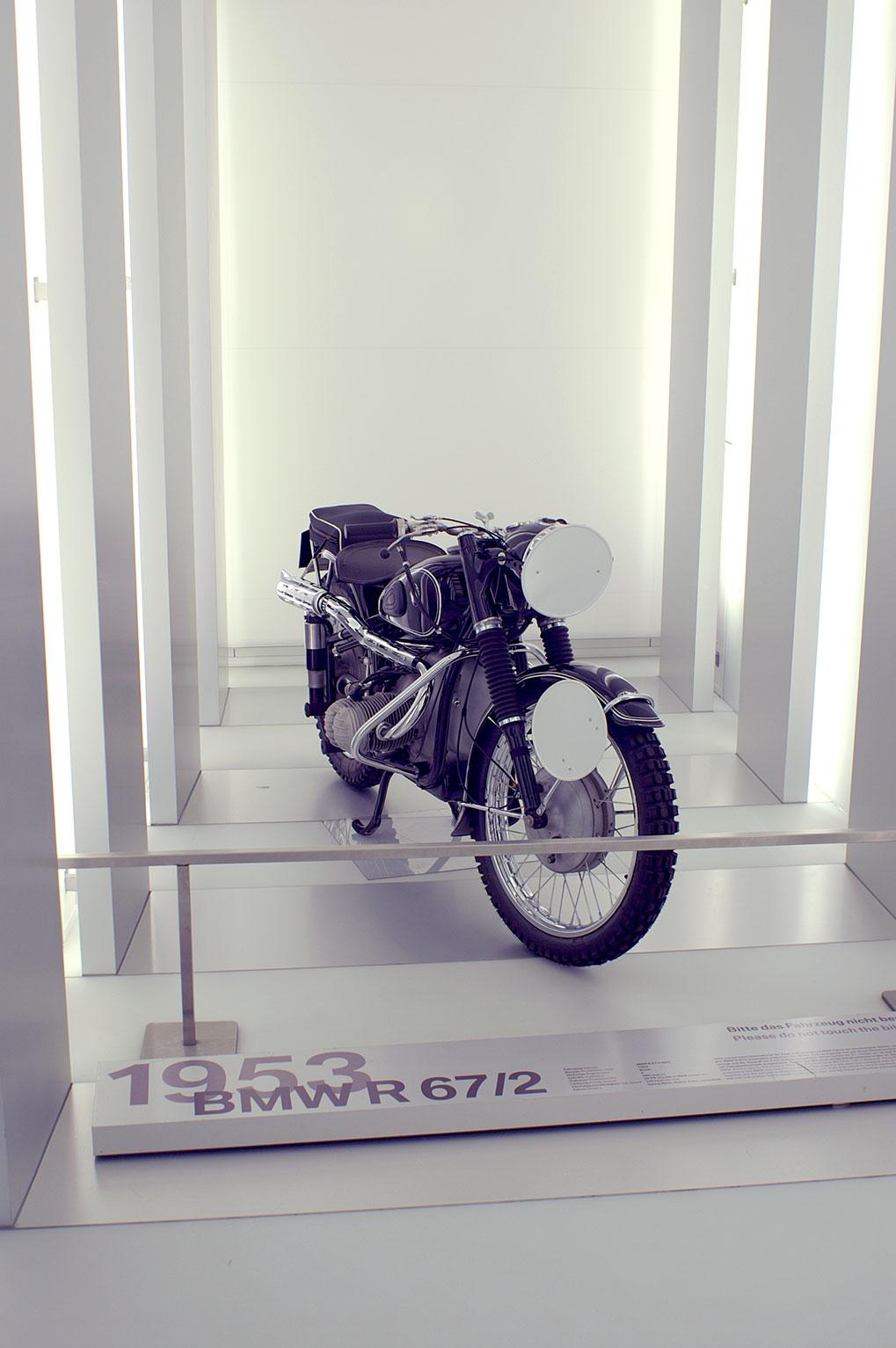 Museum BMW мотоциклы