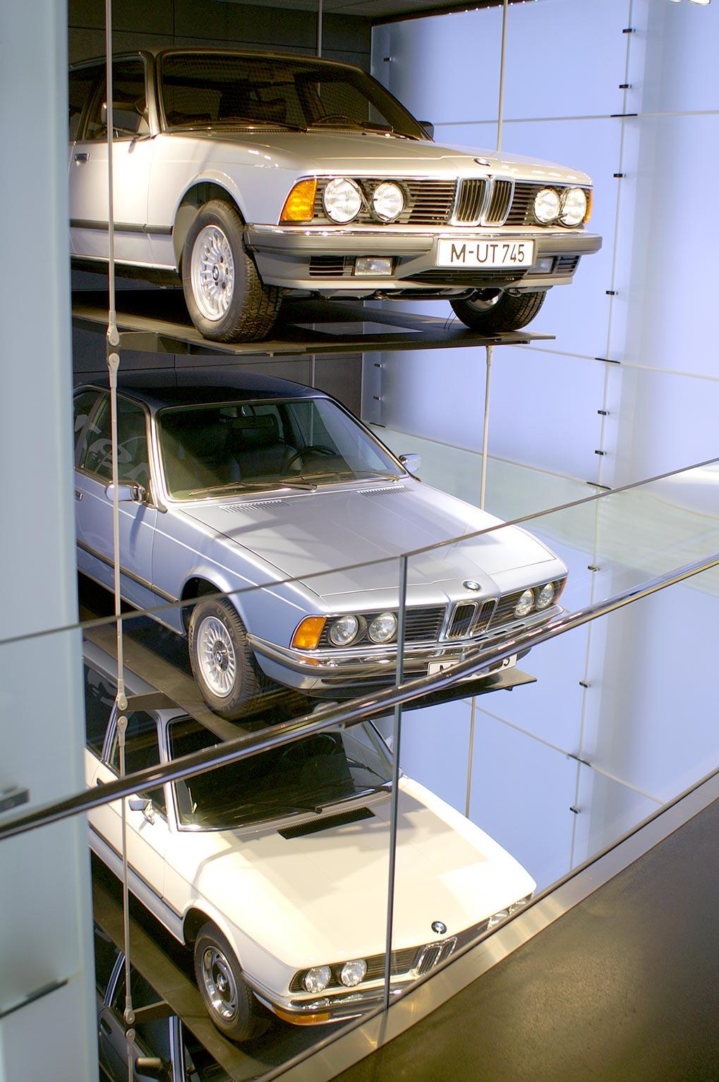 BMW Museum 5 series