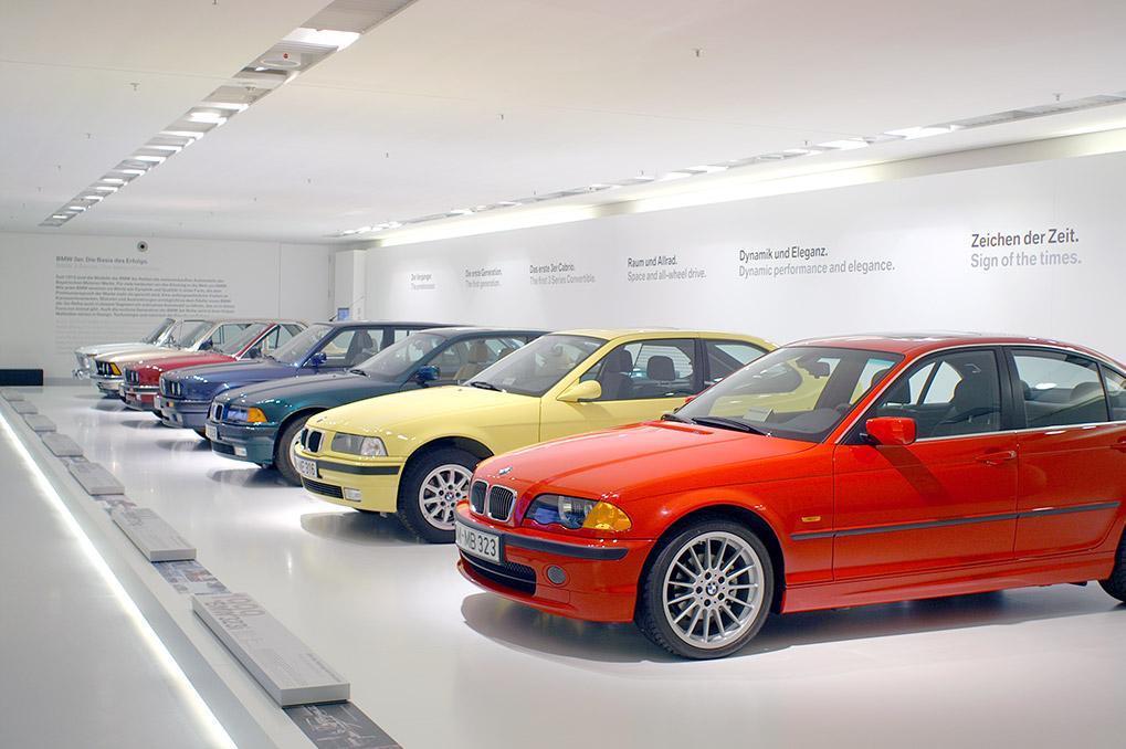 BMW Museum 3 series