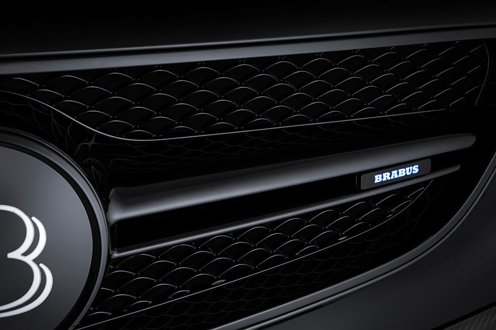 Brabus Mercedes-Benz S63 Coupe передние лого