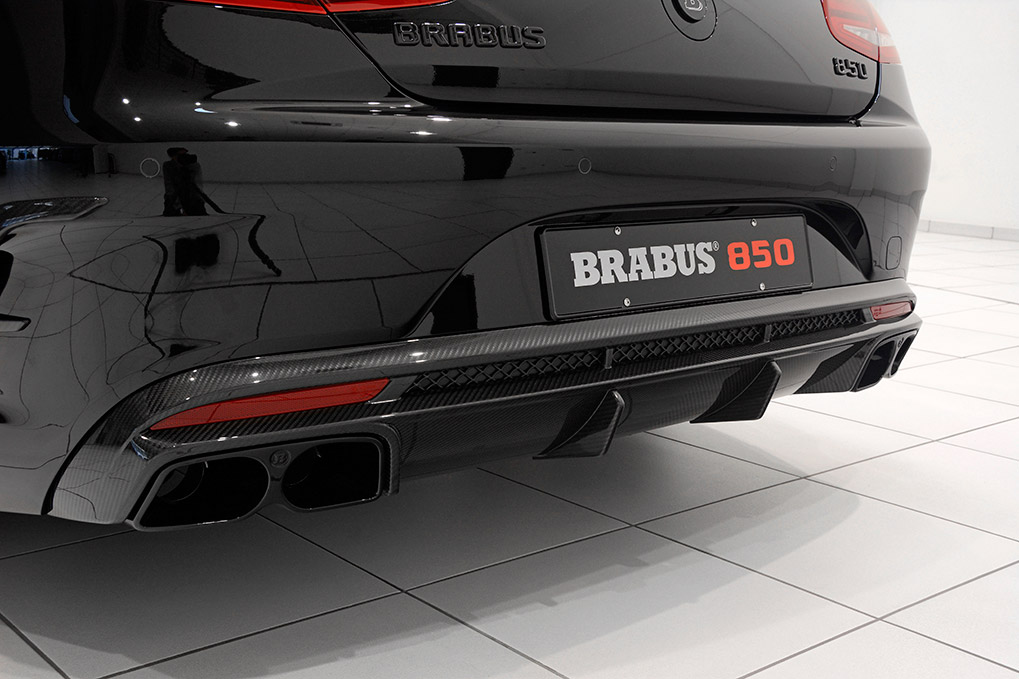 Brabus Mercedes-Benz S63 Coupe C217 выхлопная система