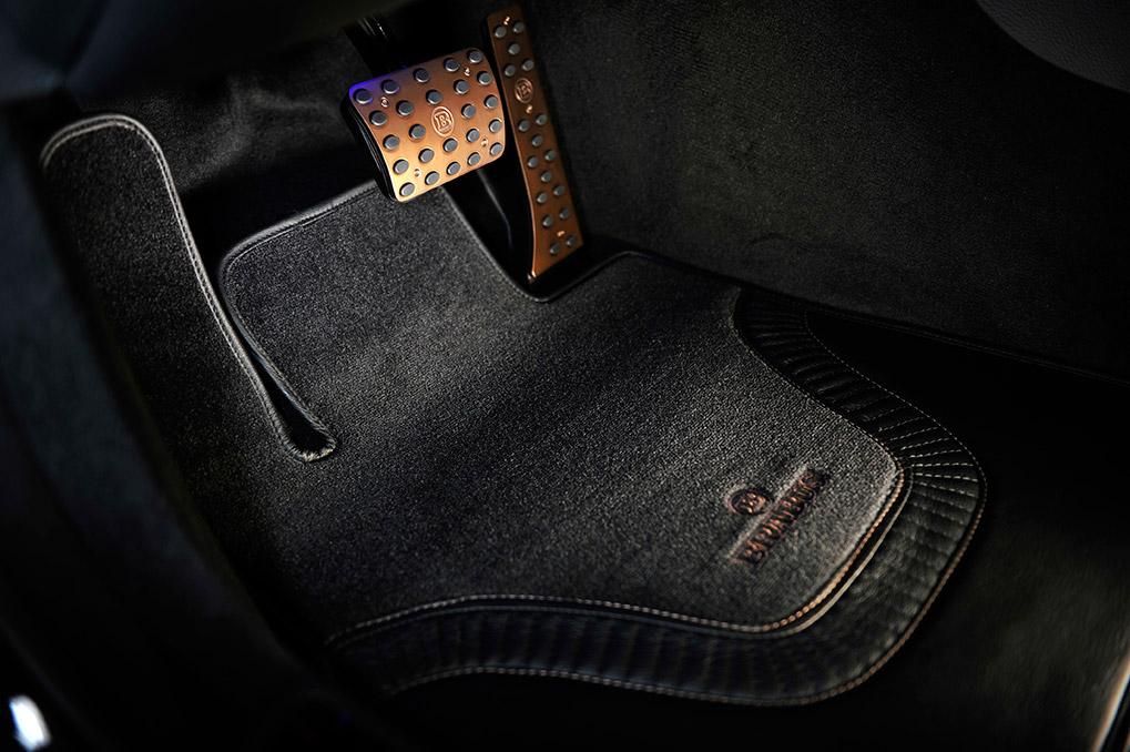 Brabus Mercedes-Benz S63 Coupe C217 педали