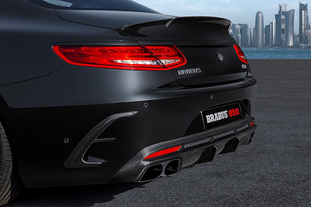 Brabus Mercedes-Benz S63 Coupe задний диффузор