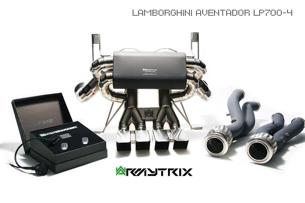 Armytrix exhaust Lamborghini LP700-4 Aventador