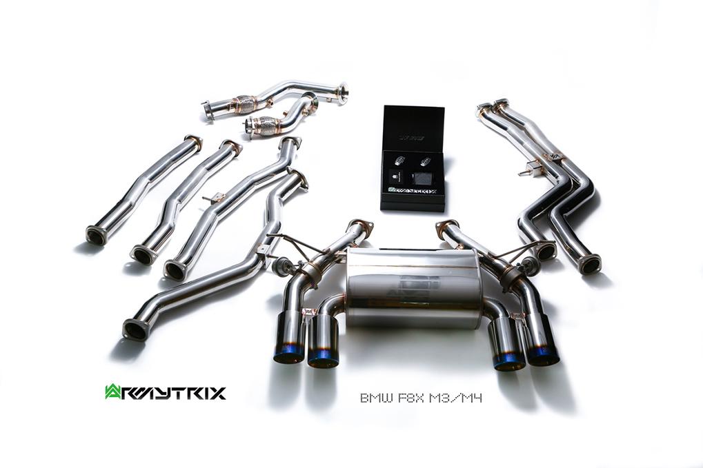 Armytrix exhaust BMW M3 F80 M4 F82