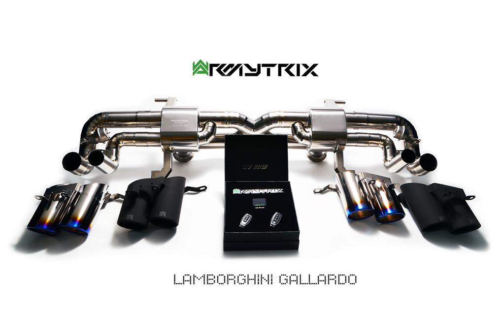 Armytrix exhaust Lamborghini LP550 LP560-2 LP570-4 Gallardo