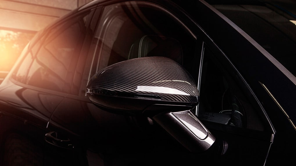 Porsche Macan S Techart Aerokit I side mirror caps