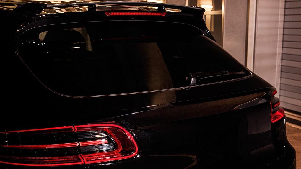 Porsche Macan S Techart Aerokit I Roof spoiler