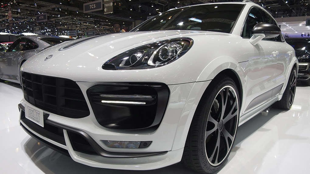 Porsche Macan Techart widebody