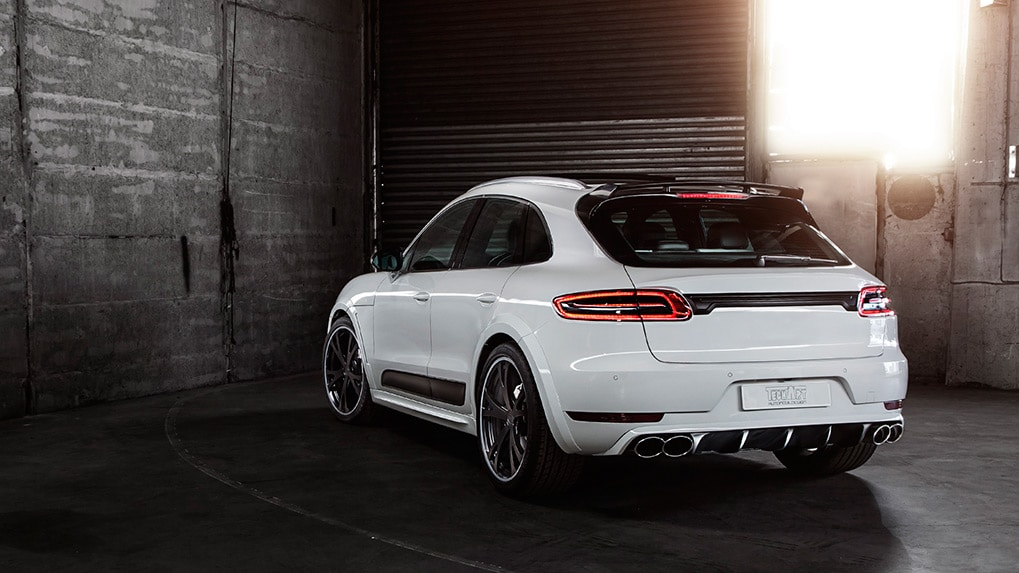 Porsche Macan Techart widebody Rear elements