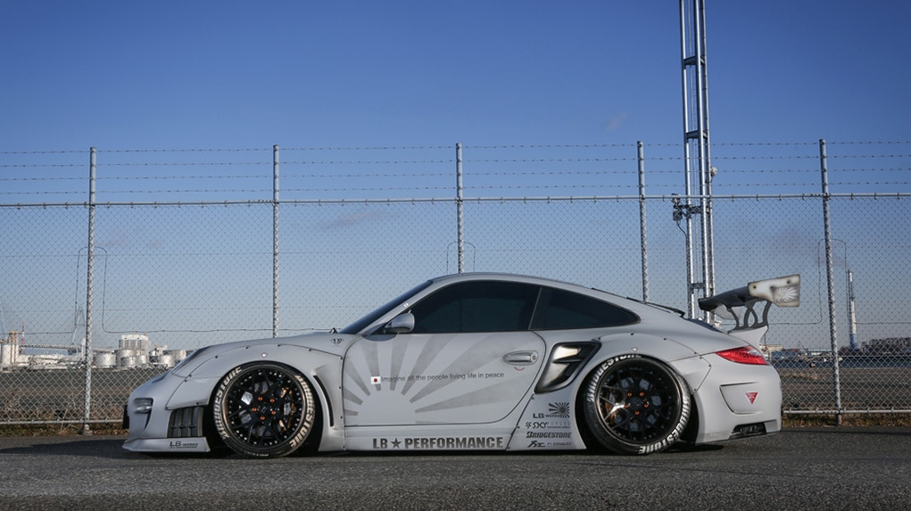 LB WORKS Porsche 997 Turbo Body kit