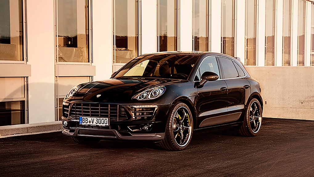 Porsche Macan S Techart Aerokit I Side skirts