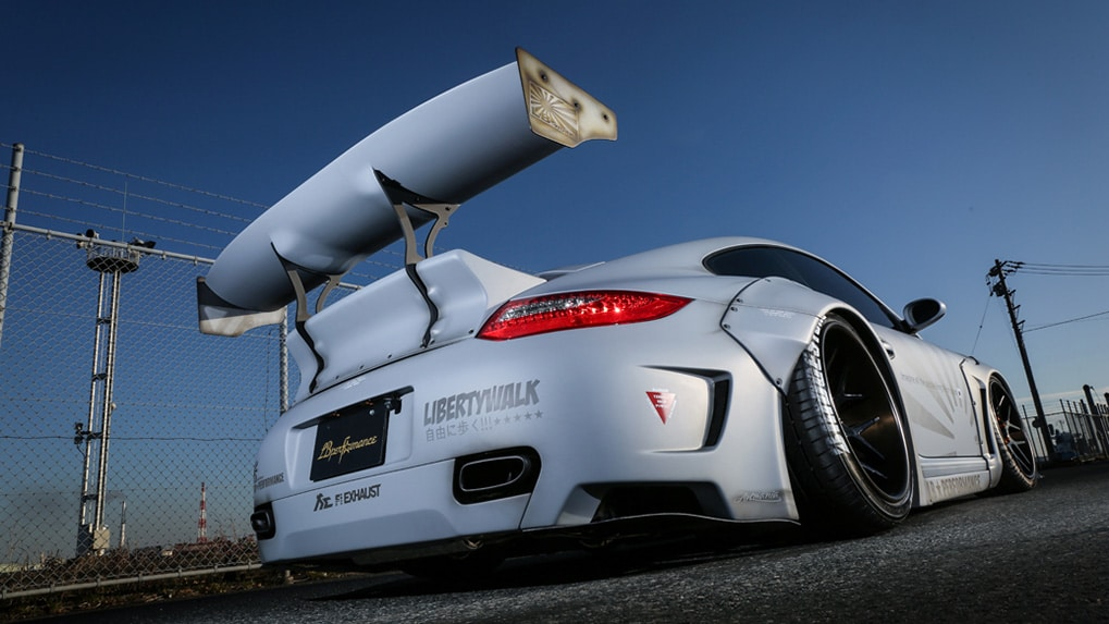 Porsche Turbo 997 LB Works Rear bumper