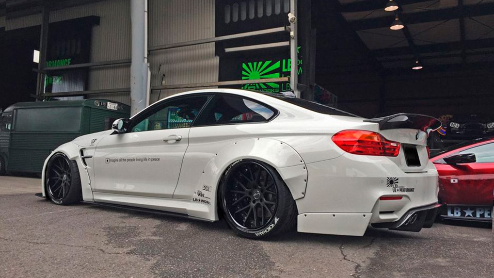 LB Works обвес для BMW M4 F82 от LB Performance