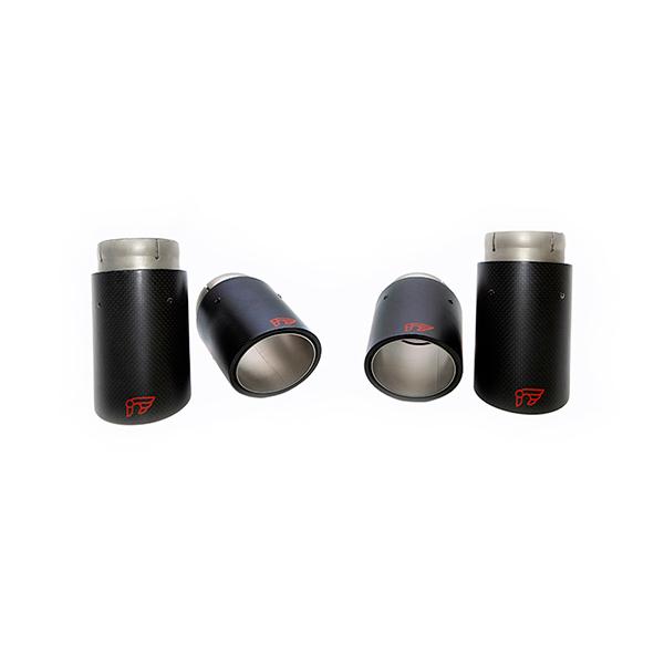iPE AUDI S3 8V насадки карбон