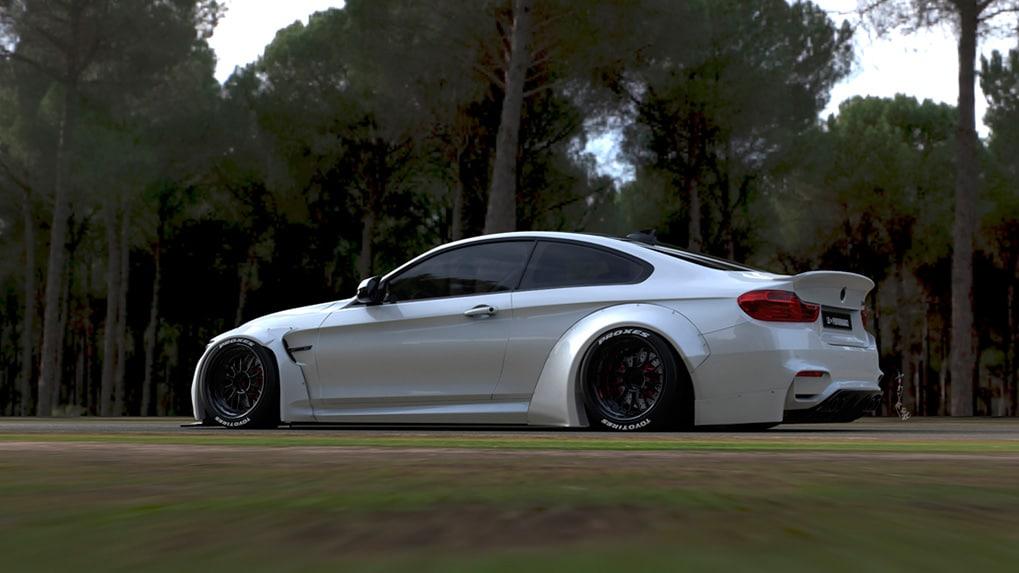 BMW M4 F82 от LB Performance