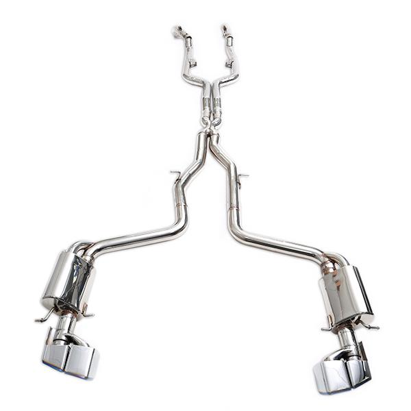 ipe mercedes-benz cls63 amg c218 полная выхлопная система с клапанами