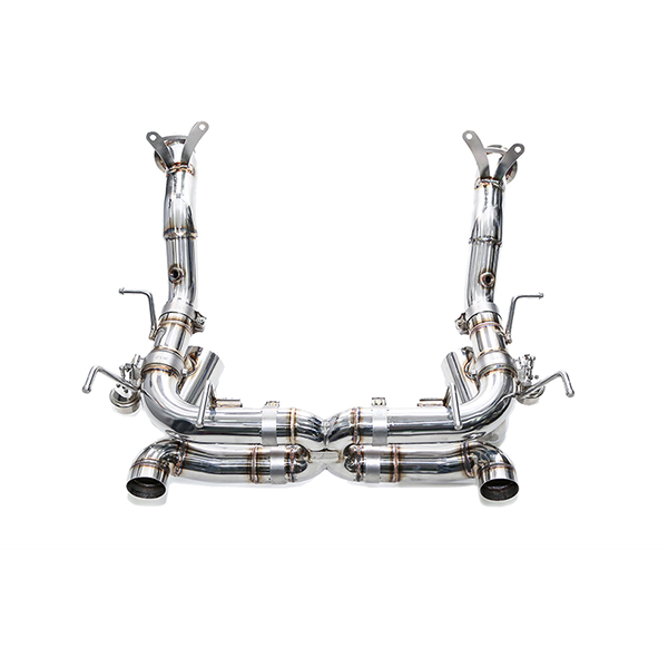 ipe Ferrari 458 Speciale catback exhaust with catless pipes