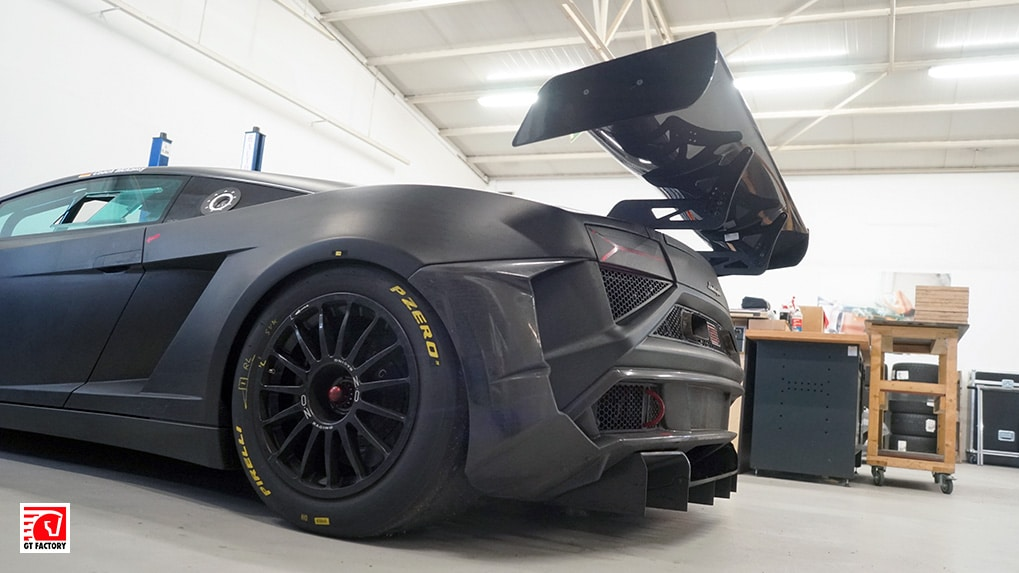 Lamborghini Gallardo Extenso GT3 rear section