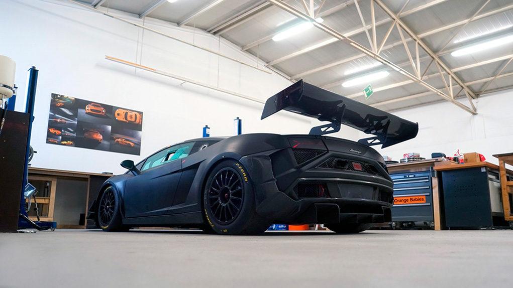 Lamborghini Gallardo Extenso GT3