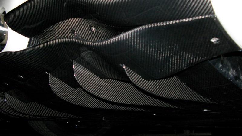 Rear Diffusor Fins