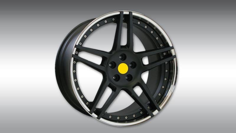Wheels NF3 Black Chrome