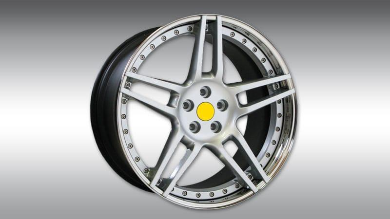 Wheels NF3 Silver Chrome