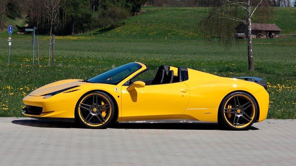 Novitec Ferrari 458 Spider программа тюнинга