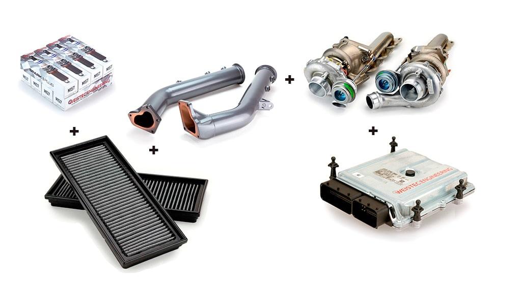 Weistec Engineering увеличение мощности M157 двигателя Mercedes-Benz G63 CLS63 E63 ML63 GL63 SL63 S63 Stage3