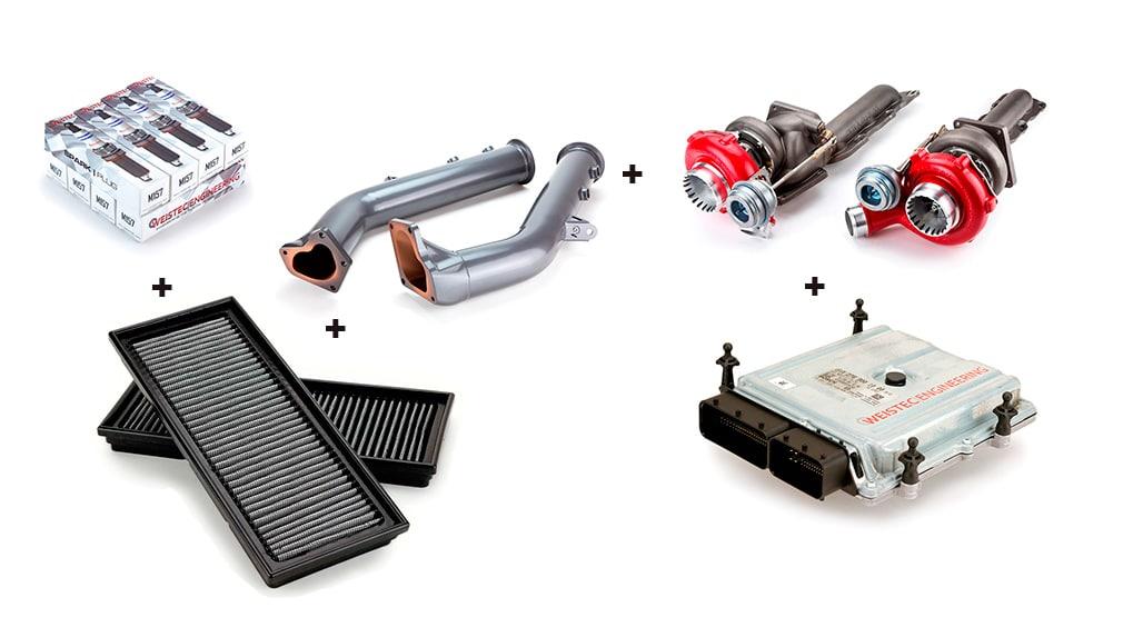 Weistec Engineering увеличение мощности M157 двигателя Mercedes-Benz G63 CLS63 E63 ML63 GL63 SL63 S63 Stage4