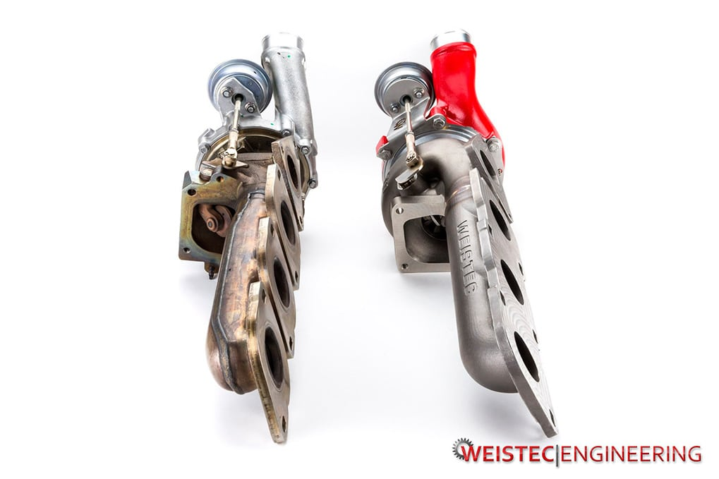 Weistec Stage 4 vs stock turbos and manifolds