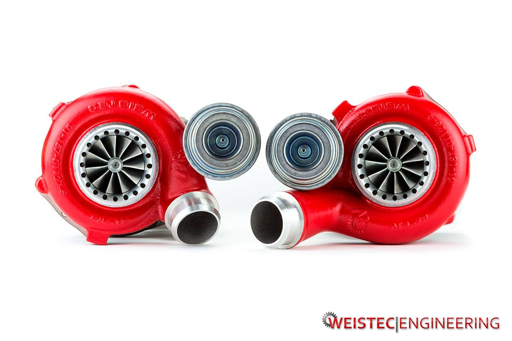 Weistec Stage 4 turbochargers