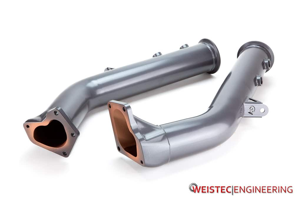 M157 downpipes