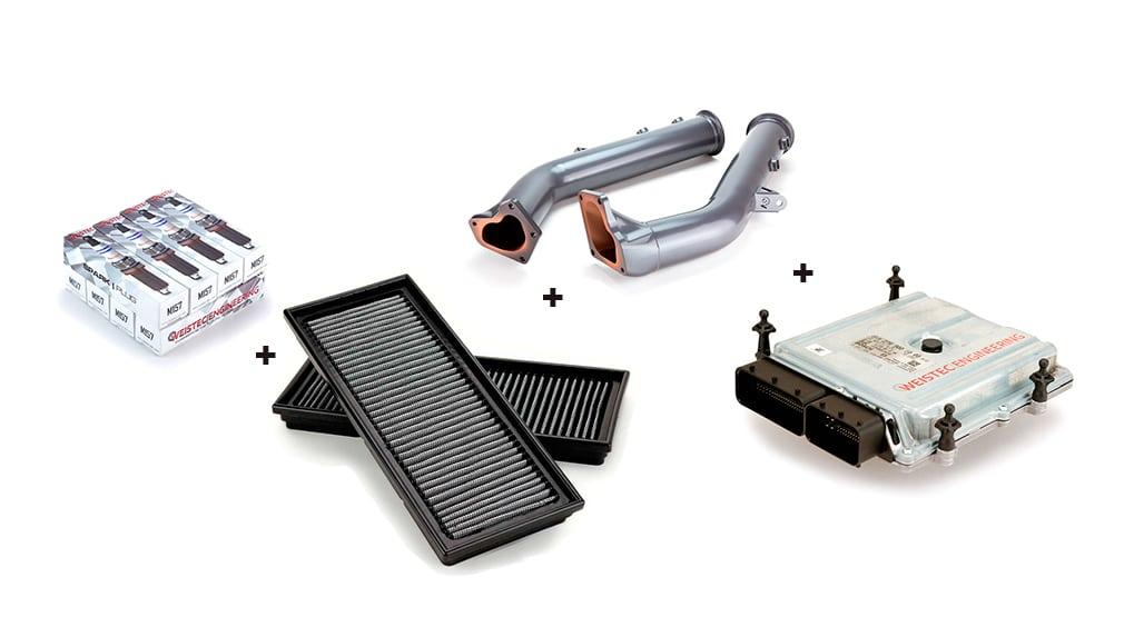Weistec Engineering увеличение мощности M157 двигателя Mercedes-Benz G63 CLS63 E63 ML63 GL63 SL63 S63 Stage2