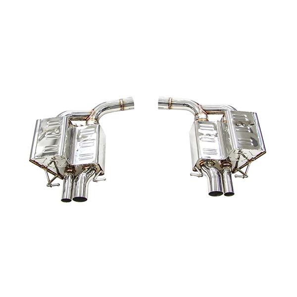 ipe mercedes-benz c63 amg w205 глушители с клапанами