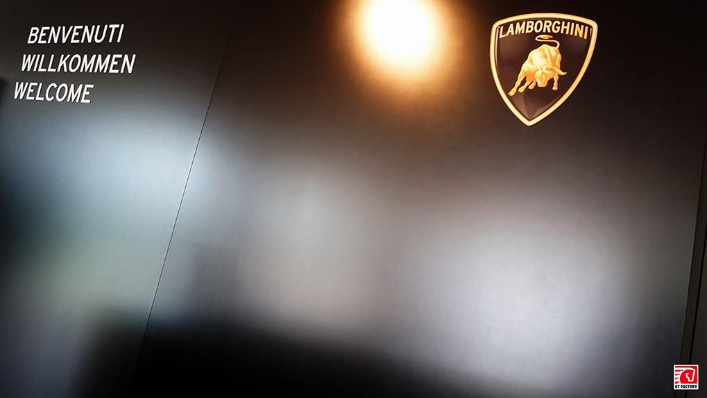 Музей Lamborghini приветствует вас