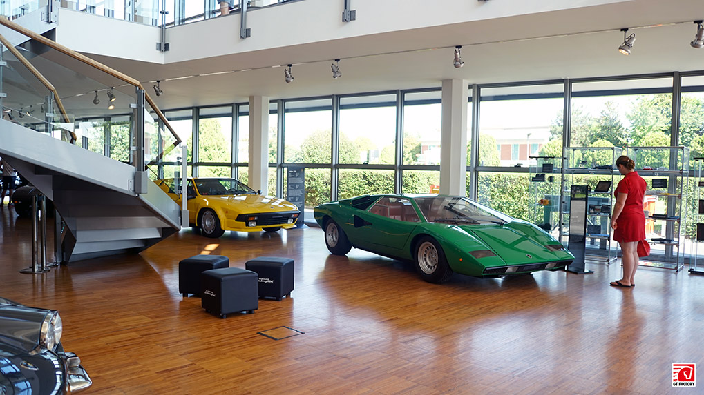 Музей Lamborghini экспозиция