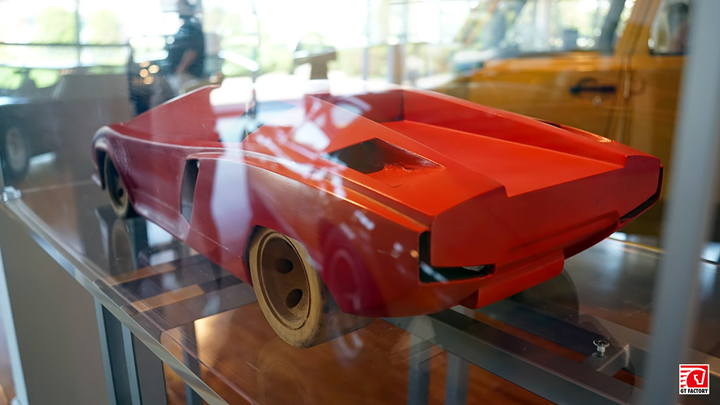 Музей Lamboghini Countach model