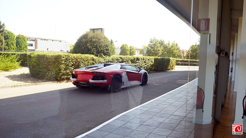 Новые Lamborghini Aventador